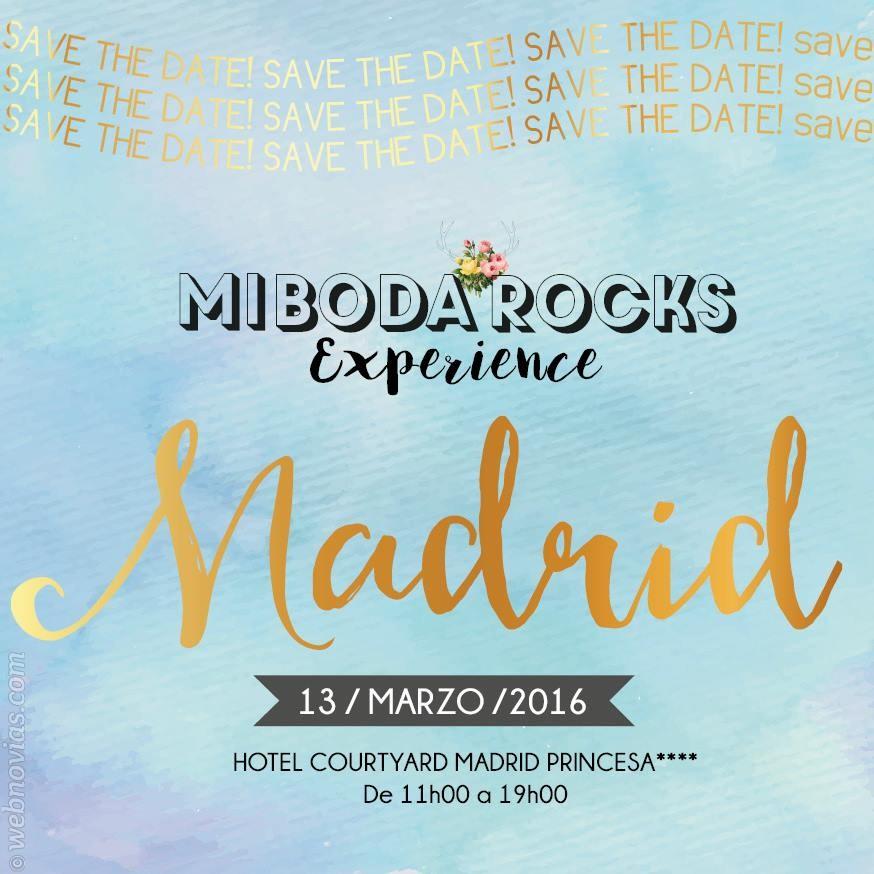 Vuelve Mi Boda Rocks Experience Madrid 2016