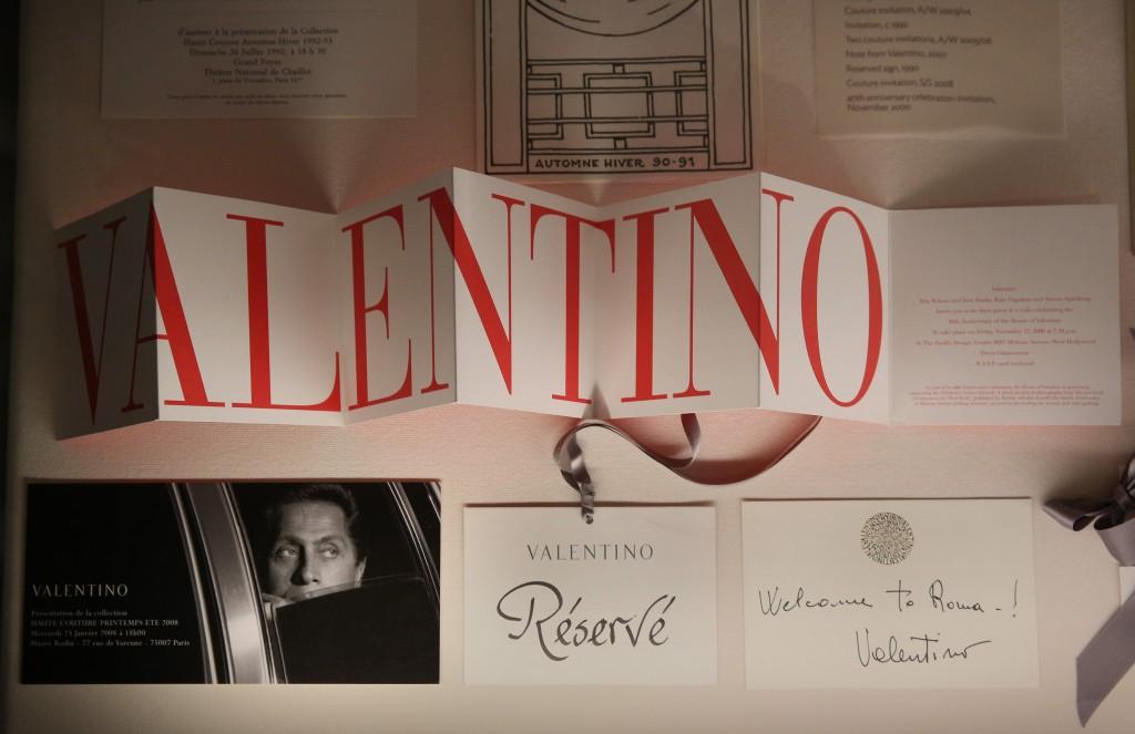 Tras los pasos de Valentino