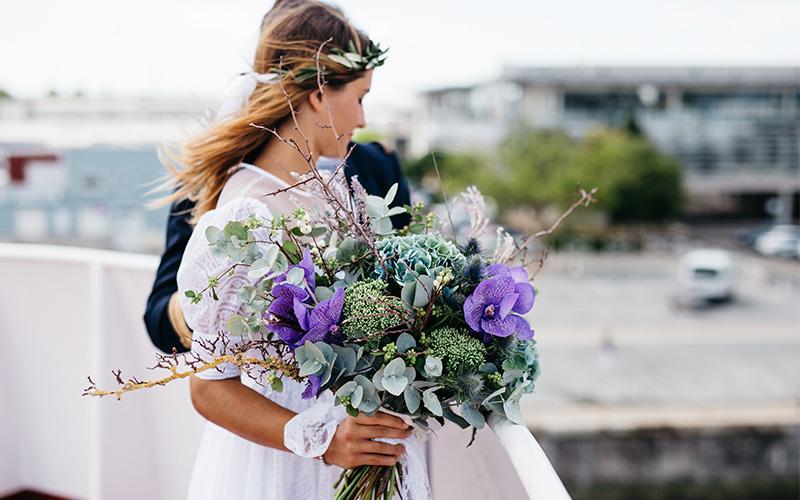 Flores para la boda