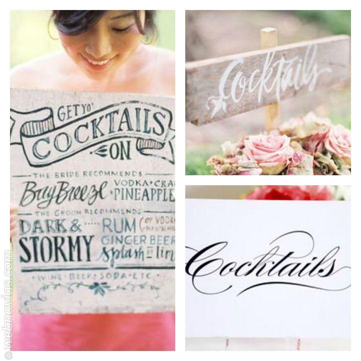 Accesorios originales para el cóctel de boda 2