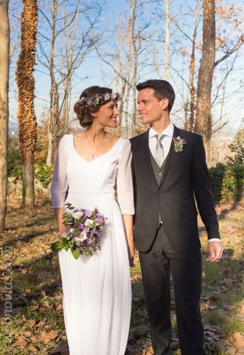 Anna y Guillem, una boda invernal