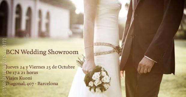 BCN Wedding Showroom recibe a los novios