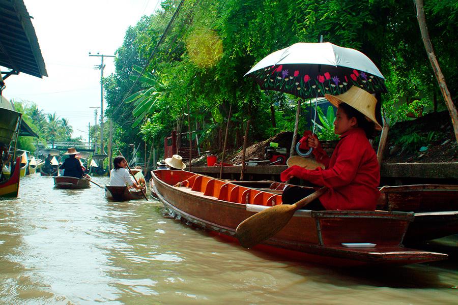 Mercado de Bangkok