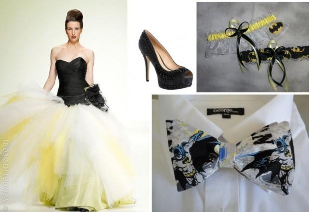 Decoración: Batman en tu boda