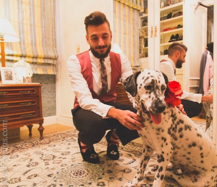 Ana y Alvaro, una boda íntima y divertida