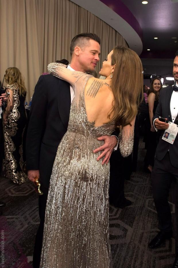 La boda secreta de Brad Pitt y Angelina Jolie