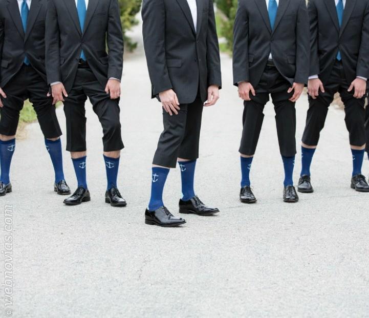 Calcetines divertidos para el novio