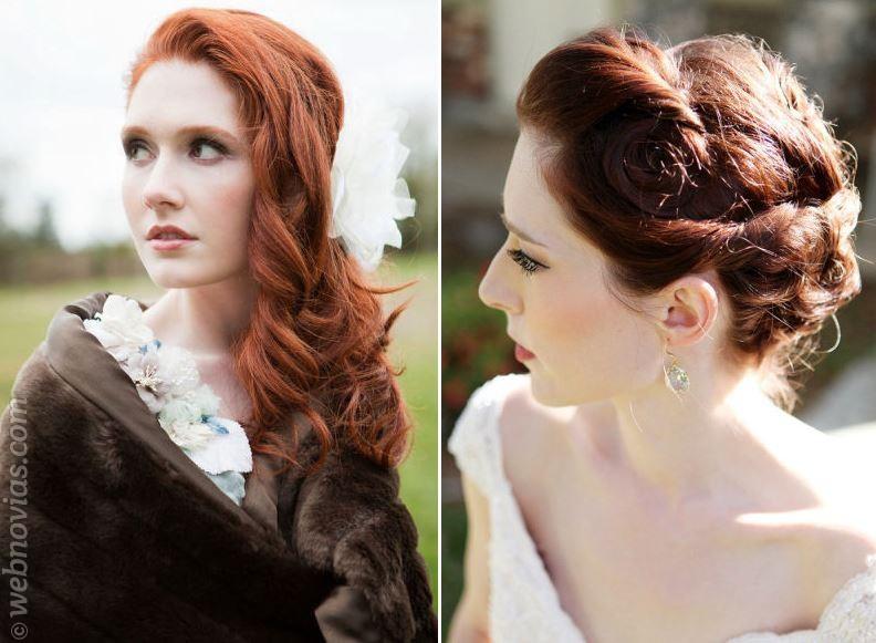 Novias pelirrojas: el maquillaje ideal