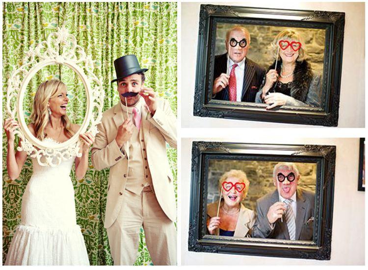 Photocall para bodas... ¡sonríe!