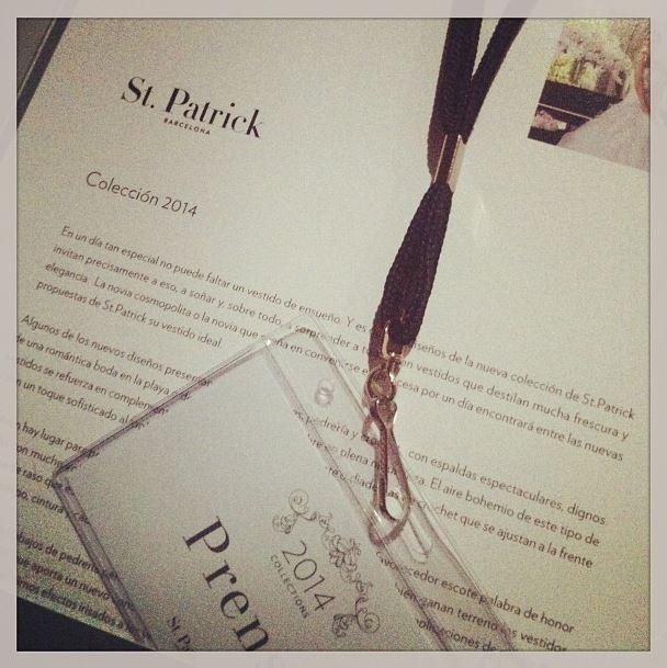 St. Patrick, nueva colección 2014