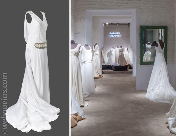 Exposición de vestidos de Carmen Halffter