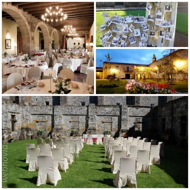 Casarse en Galicia Monasterio de Aciveiro