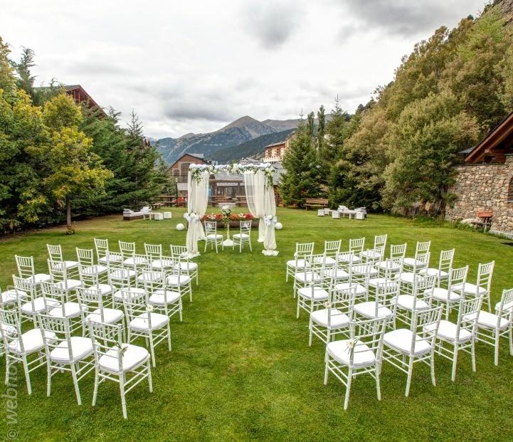 Celebra tu boda en Sports Hotel de Andorra