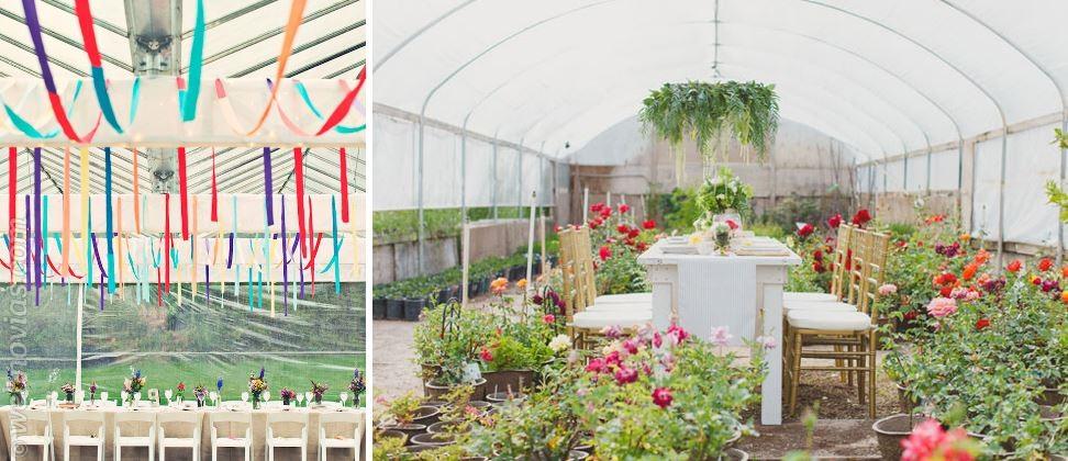 Celebra tu boda en un invernadero