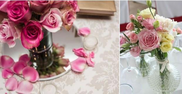 Centros de mesa para bodas primaverales
