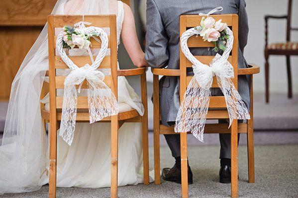 Feliz y blanca boda