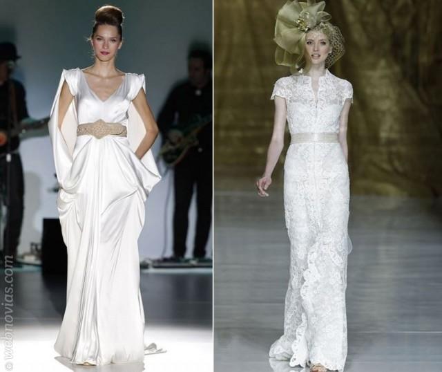 Consejos de moda: vestidos de novia con cinturón