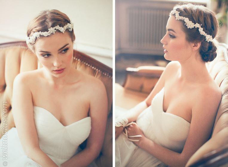 Jannie Baltzer 2015: tocados de novia