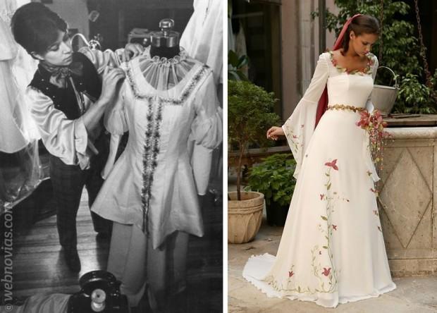 Vestidos de novia de epoca medieval