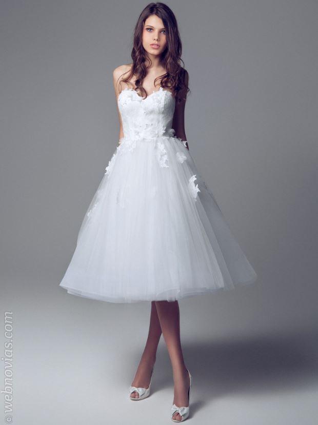 Consejo de moda: novias con falda midi