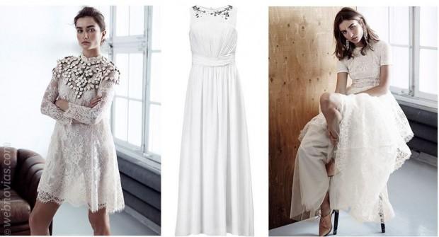 Consejo de moda: vestidos de novia low-cost