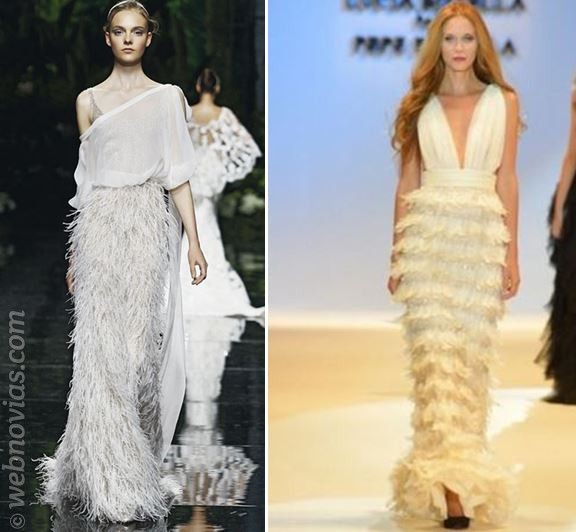 Consejos de moda: Vestidos con plumas