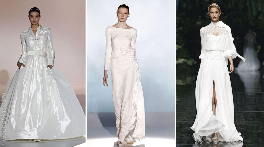 Consejos de moda: Vestidos de manga larga | Webnovias.com