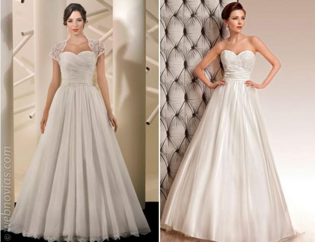 Consejos de moda vestidos de novia años 50
