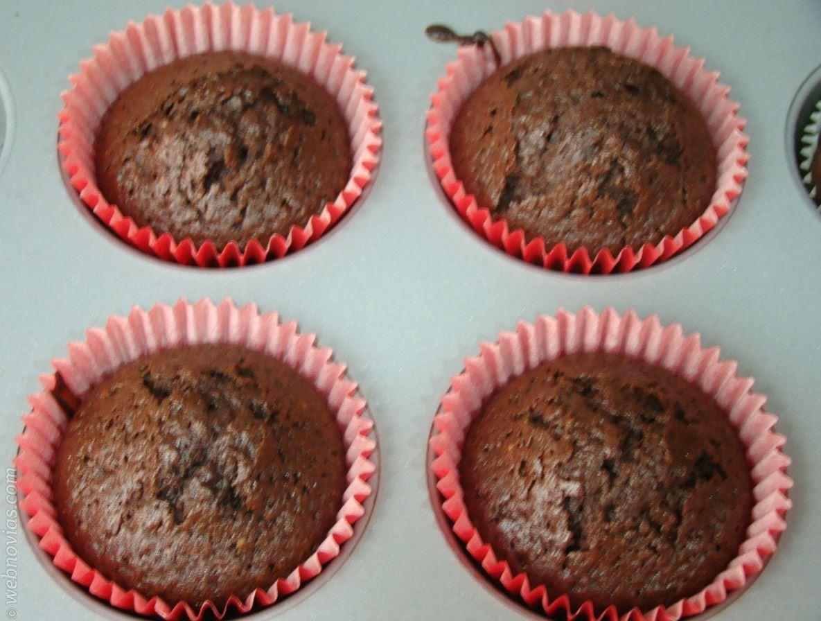 Receta: Cupcakes de Chocolate