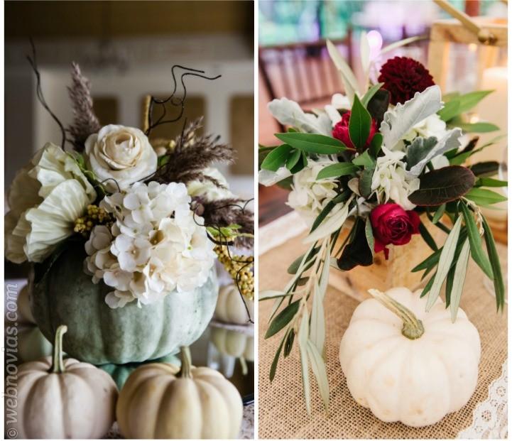Decora con calabazas tu boda en Halloween