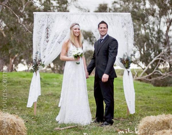 Toque vintage: decora tu boda con encaje