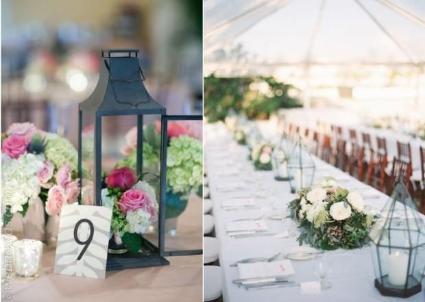 Decoración de bodas con faroles
