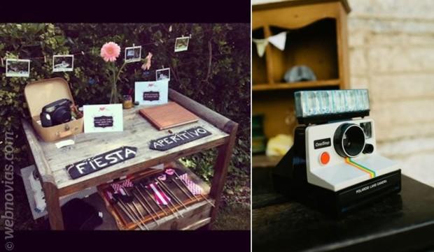 Decora tu boda con fotos polaroid 1