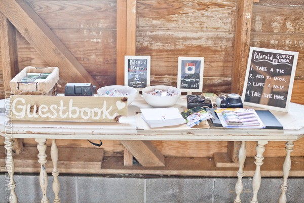 Decora tu boda con fotos polaroid