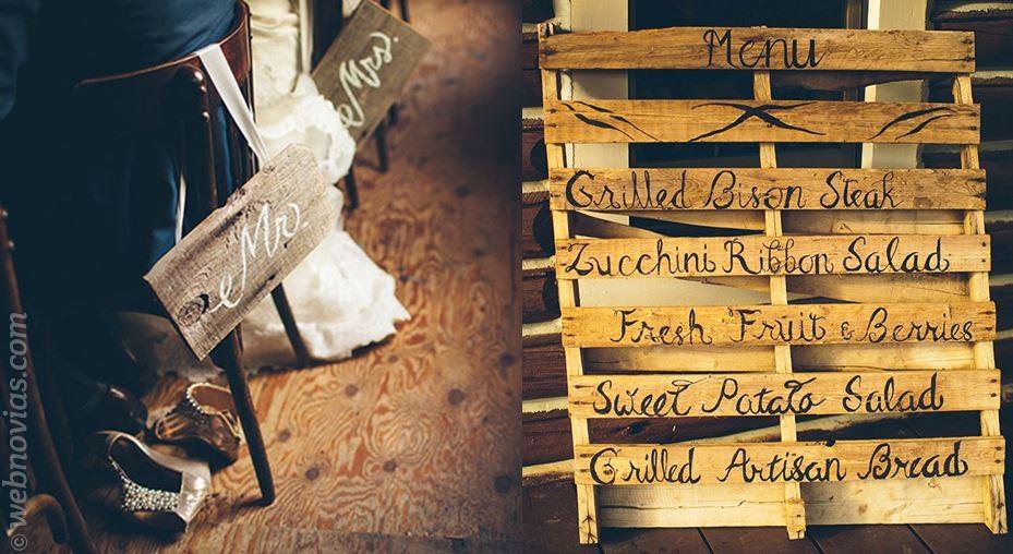 Decora tu boda con palés 3