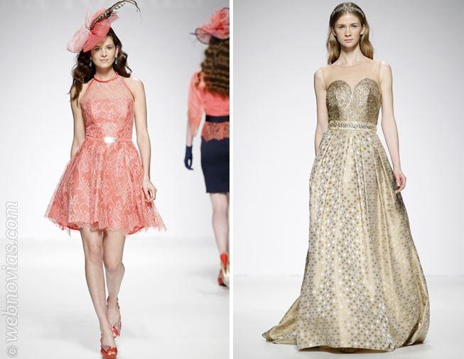 Vestidos de fiesta ana torres 2014