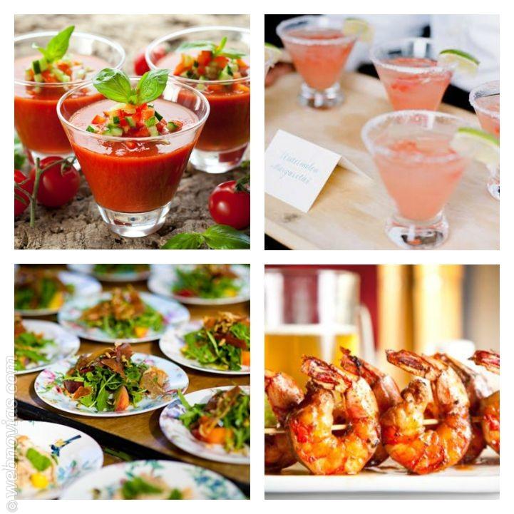 El menú ideal para una boda veraniega 1