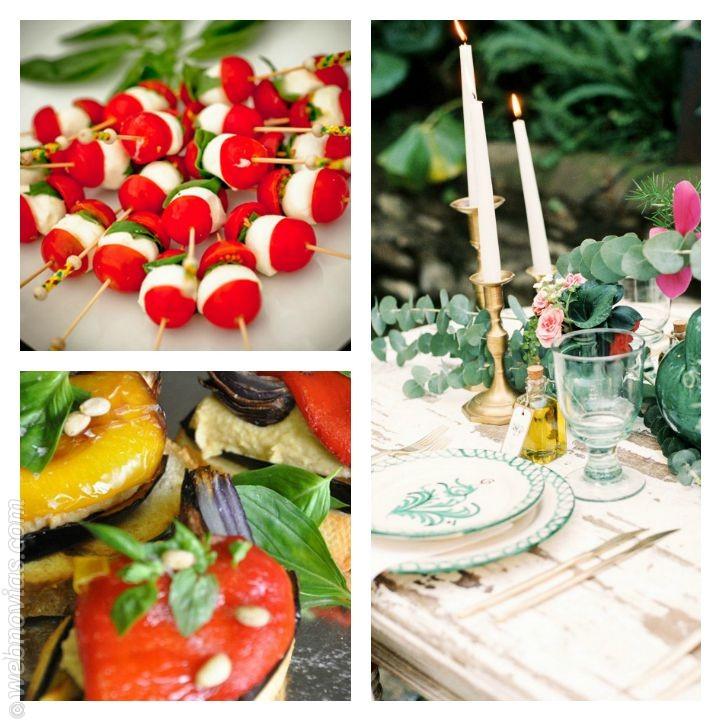 El menú ideal para una boda veraniega 4