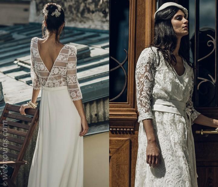 La colección 2016 para novia de Laure de Sagazan