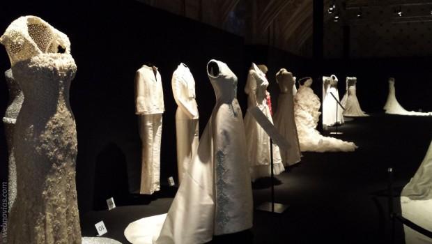 Exposición de vestidos de novia Pronovias