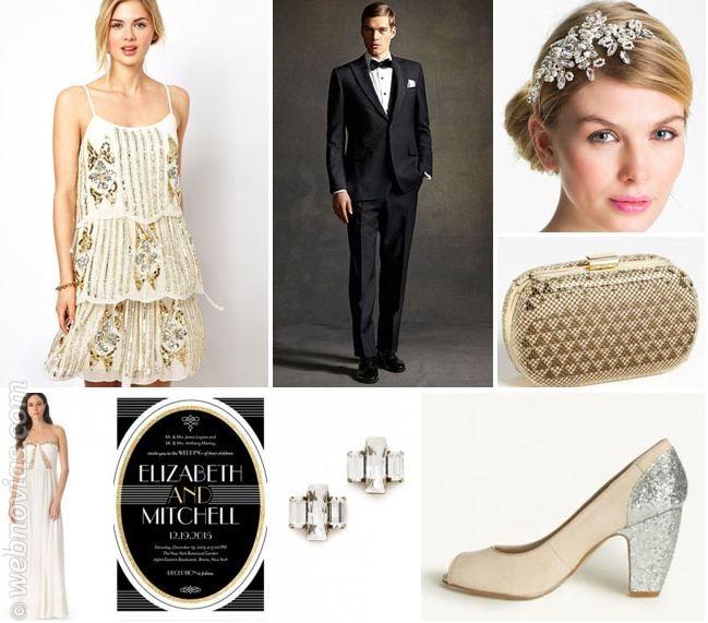 El gran Gatsby: Una boda años 20