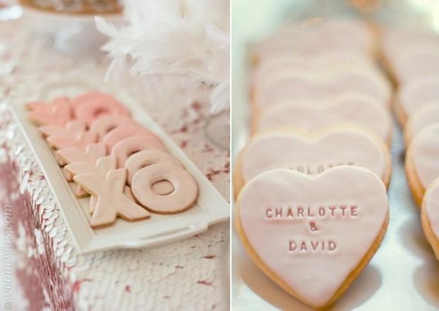 Galletas personalizadas para bodas