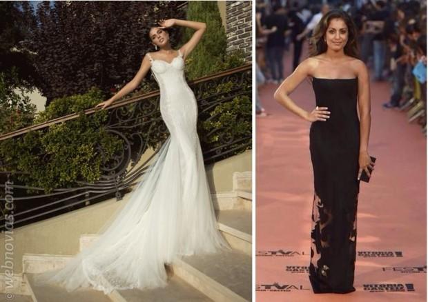 Vestimos de novia a... Hiba Abouk
