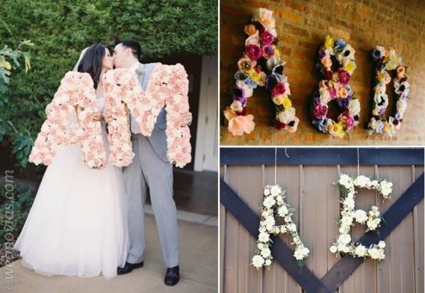 Ideas de flores originales bodas