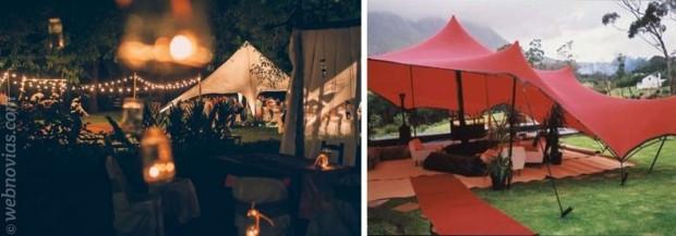 Ideas originales Tipis para bodas
