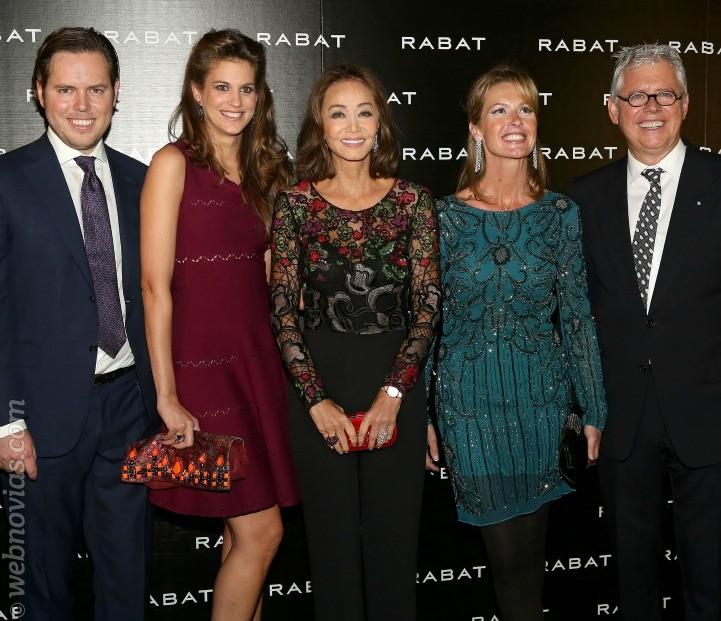 Inauguración de lujo de la nueva joyería Rabat