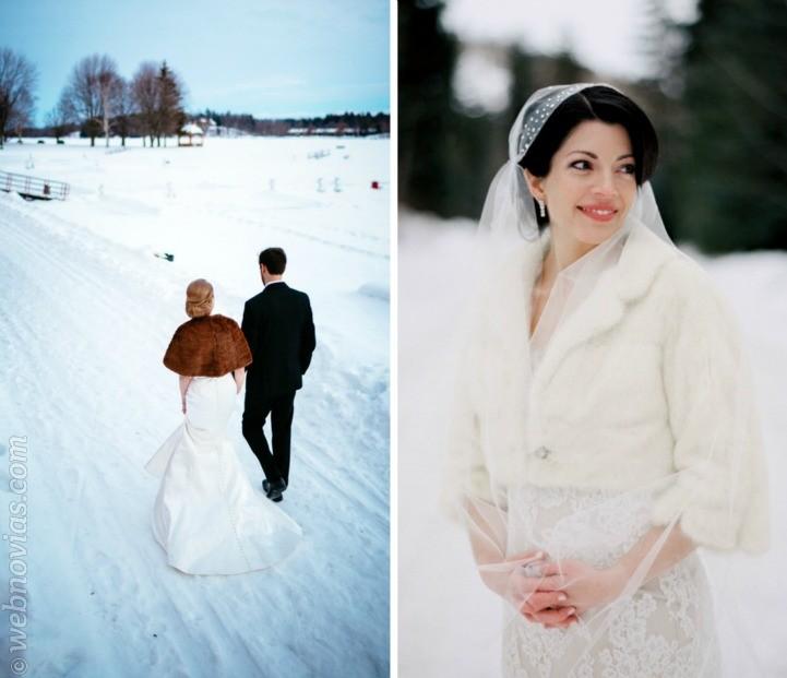 Inspiración para novia la reina de las nieves