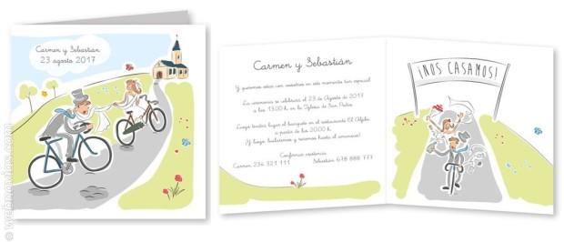 Invitaciones de boda CardDreams 3