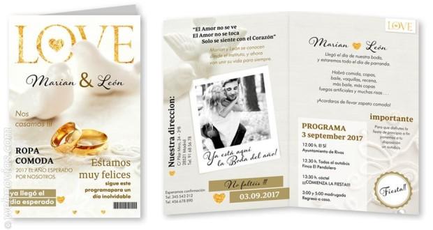Invitaciones de boda CardDreams 4