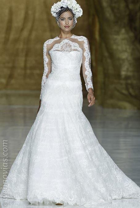 Irina Shayk vestida de novia